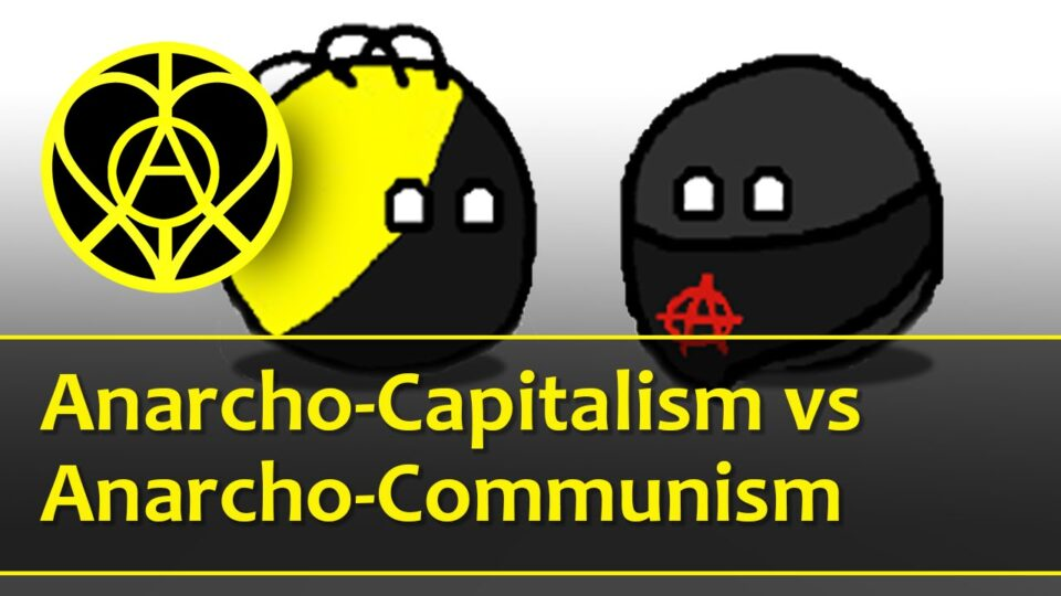 Anarcho - Capitalism vs Anarcho - Communism Debate - YouTube